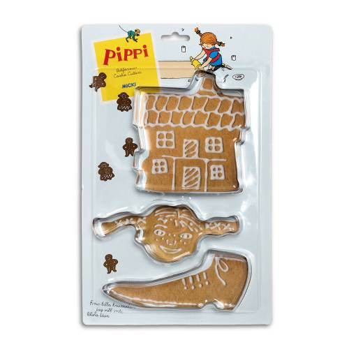 Biscuit cutters Pippi Longstocking in the group Home / Baking at Astrid Lindgrenbutiken (7315624437860)